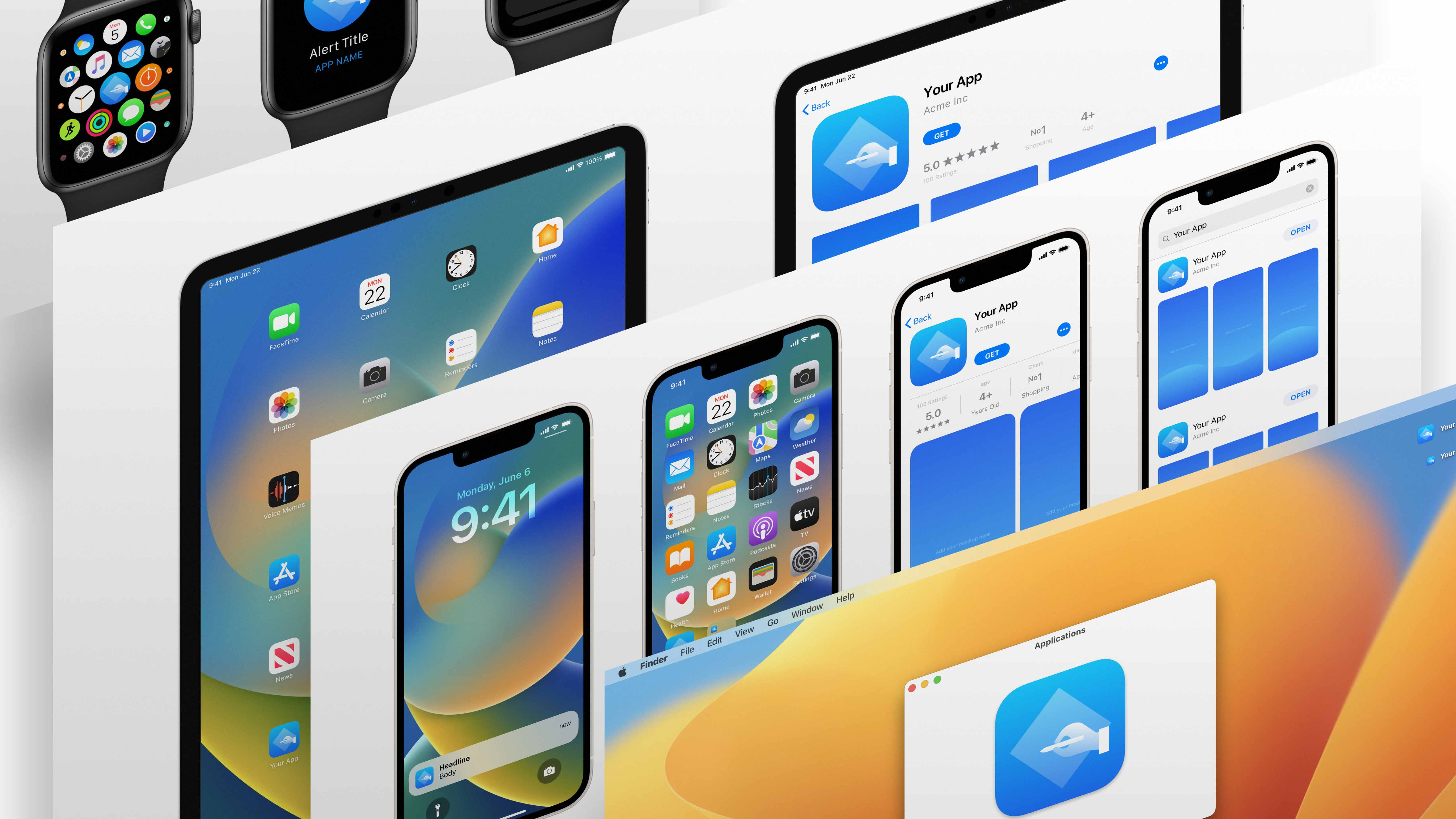 Ios 12 app icon template for sketch maxwellsz